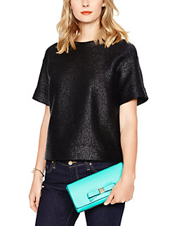 montford park smooth keira clutch by kate spade new york