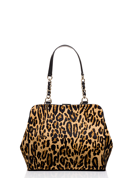 Beautiful leopard print kate spade bag