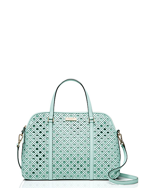 Kate Spade Newbury Lane Caning Small Rachelle, Grace Blue
