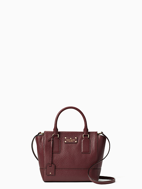 Kate Spade Bay Street Small Camryn, Mulled Wine