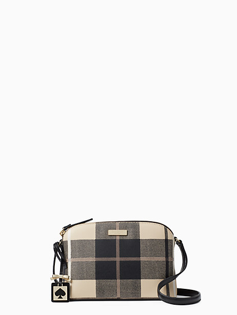 Kate Spade Brightwater Drive Hanna, Woodland Plaid Pumice