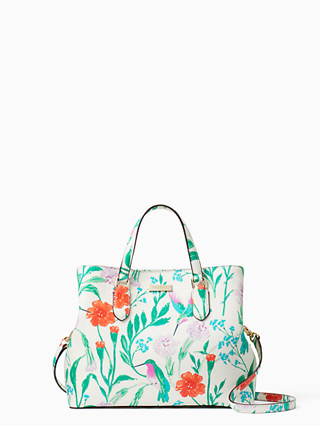 Kate Spade Laurel Way Hummingbird Floral Evangelie, Cream
