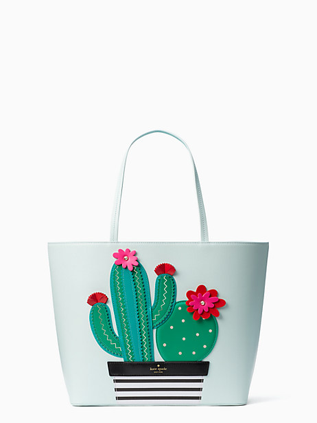 Kate Spade New Horizons Cactus Little Len, Island Waters
