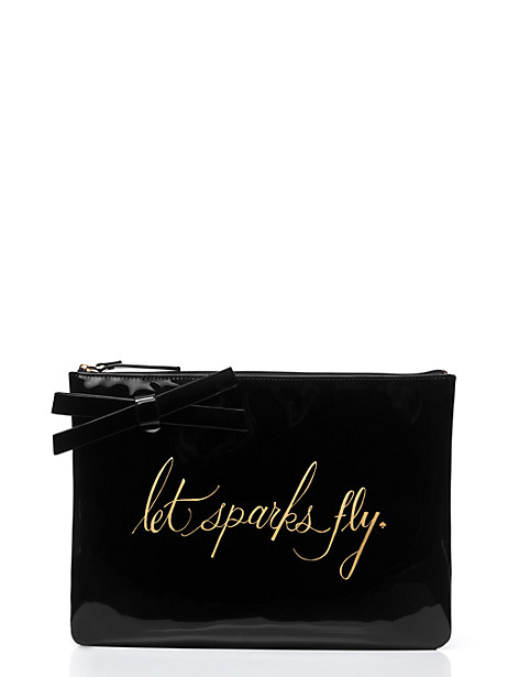 kate spade - let sparks fly clutch - on sale for $29!