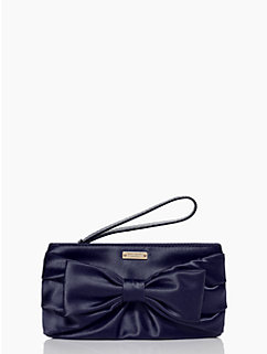plaza bow pouch by kate spade new york