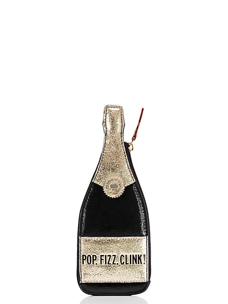 Pop! Fizz! Clink! Champagne coin purse from kate spade - only $29!