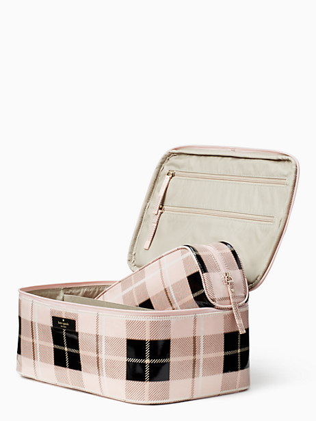 Kate Spade Daycation Large Colin, Woodland Plaid Pastry Pink