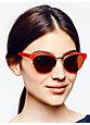 ziba sunglasses, geranium