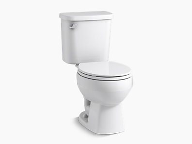 round front toilet dimensions. Windham TM  Round Front Toilet With Pro Force Technology and Left Hand Trip Lever 403080 0 Toilets Sterling Plumbing