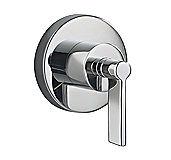 One 3-way Transfer Valve Trim, Lever Handle