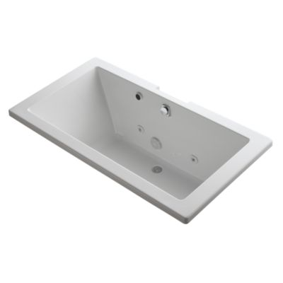 Charmant Shown Is The Barbara Barry Acrylic Whirlpool In Stucco White, Deck Mounted  Bath Set