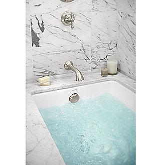 Kallista: Perfect Small Rectangular Air Bathtub: P50047-G5