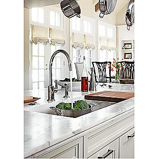 Kallista: Vir Stil(R) Minimal by Laura Kirar Kitchen Faucet: P23073-00