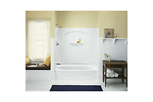"Acclaim™, Series 7109, 31-1/2"" x 54"" Bath/Shower - Left End Wall"