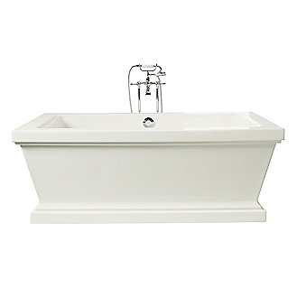 Kallista: For Loft by Michael S Smith Freestanding Bathtub: P50040-00