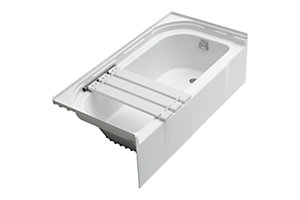 "Accord™ ADA 60"" x 30"" Bath - Right-hand Drain with Seat on Left"