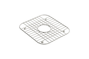 Stainless Steel Bottom Basin Rack for use with Middleton® or Southhaven® or McAllister® Double Basin Kitchen Sinks