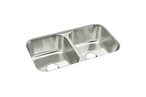"McAllister® 32"" x 18"" x 8-1/4"" Double-basin Kitchen Sink"