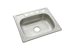 "Middleton® Single-basin Kitchen Sink, 25"" x 22"""