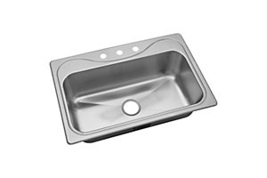 "Southhaven® X Single Basin Sink, 33"" x 22"""