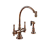 Bacchus(TM) Kitchen Faucet with Sidespray