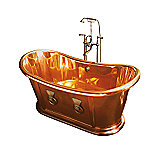 Kallista: Tubs & Whirlpools: Bathroom :  copper retro bath tub
