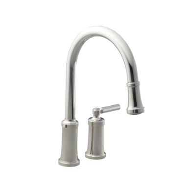 kallista quincy tm pull down kitchen faucet p25000 00