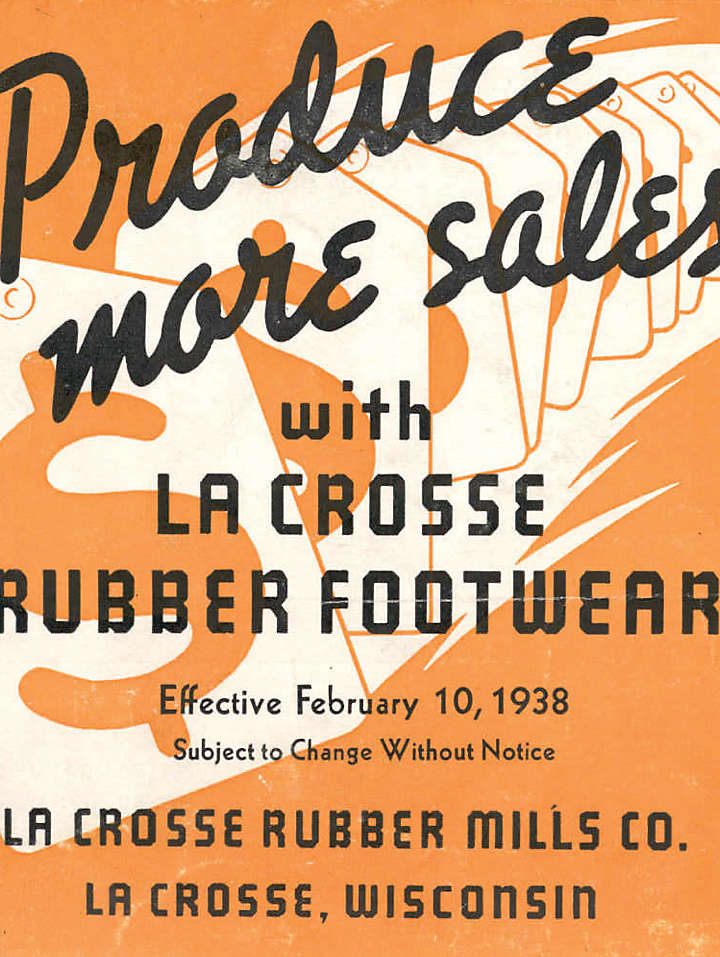 LaCrosse Rubber Mills Ad