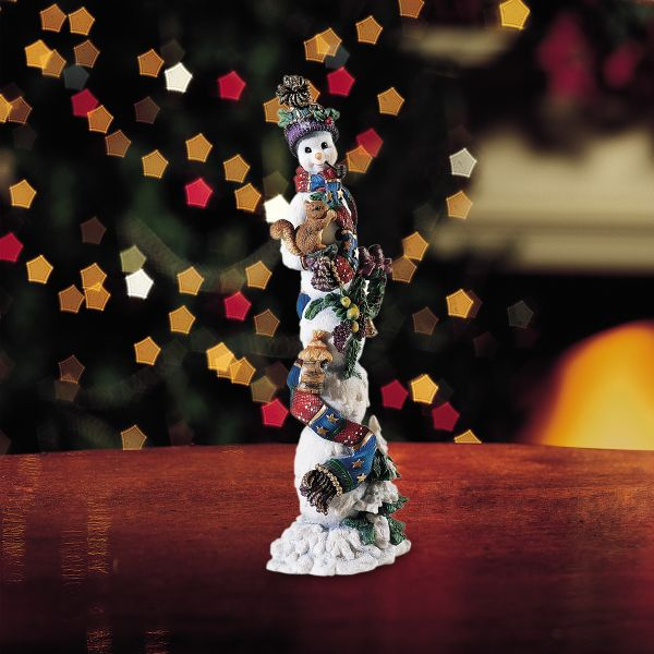 Winter Companion Snowman Figurine by Lenox