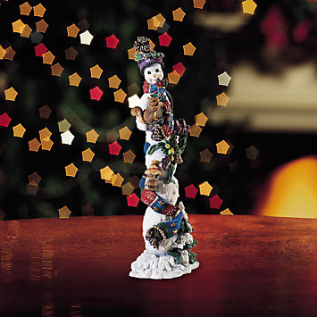 LENOX Figurines: Snowmen - Winter Companion, Legacy Edition