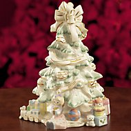 Holiday Traditions Christmas Tree Figurine by Lenox