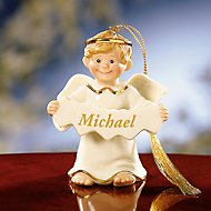 An Angel All My Own Boy Ornament by Lenox