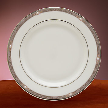 Pearlescence Platinum Butter Plate by Lenox