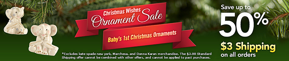 Ornament Sale - Baby's First Christmas