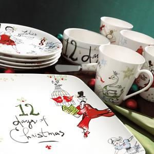 12 Days of Christmas Dinnerware by Lenox