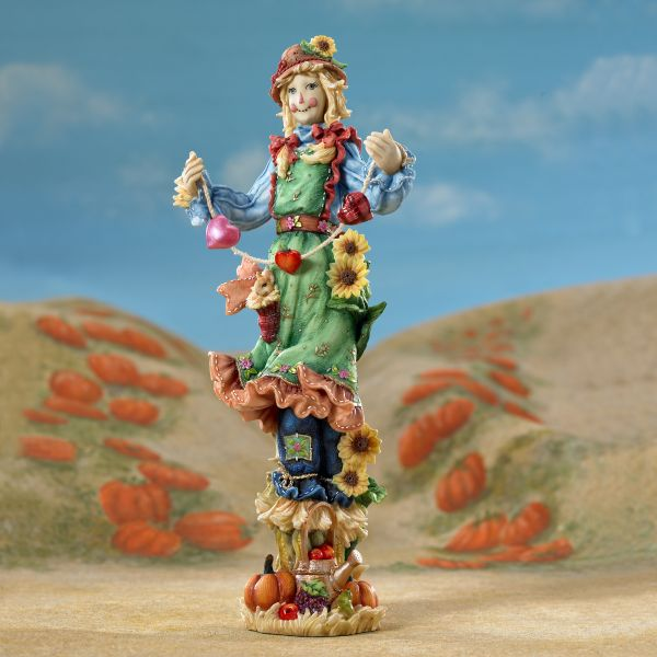 Harvest Sweetheart Pencil Scarecrow Figurine by Lenox