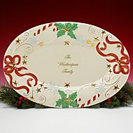 Our Family Christmas Platter by Lenox