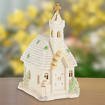 LENOX Your Home: Home Accents - St. Patrick's Blessing Music Box