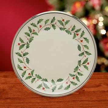 LENOX Overstock  - Holiday Platinum Butter Plate
