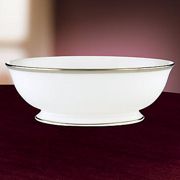 LENOX Made in America  - Columbus Circle Vegetable Bowl