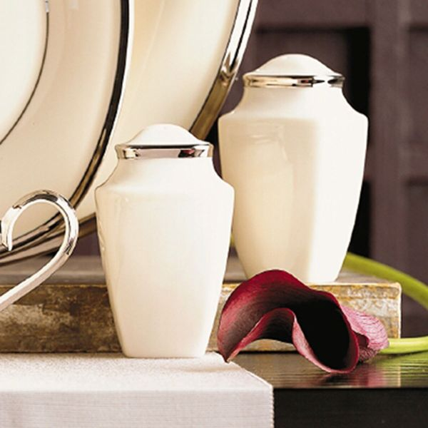 Solitaire® Square Salt & Pepper Shakers by Lenox