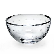 kate spade new york Larabee Dot Crystal Rose Bowl by Lenox