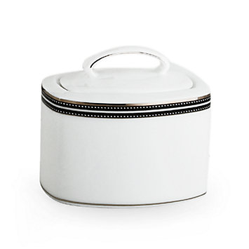 LENOX Made in America  - kate spade Union Street Sugar Bowl