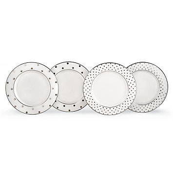 LENOX Dining: Fine China - kate spade Larabee Road 4-piece Tidbit Tray Set