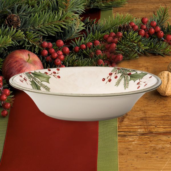 Holiday Gatherings Berry Pasta Bowl by Lenox