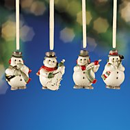 Snowman 4-piece Mini Ornament Set by Lenox