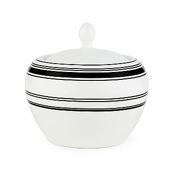kate spade new york St. Kitts Sugar Bowl by Lenox