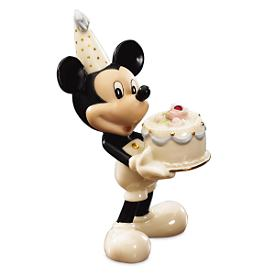 Disney's Happy Birthday to You Mickey Figurine