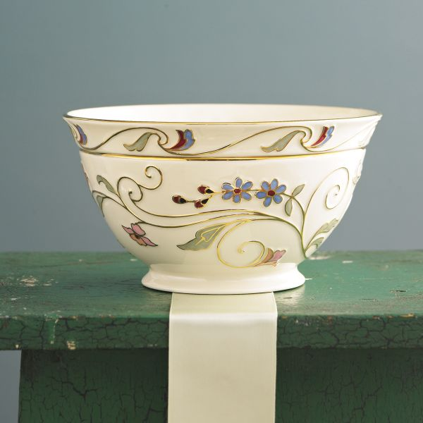 Gilded Garden Bowl by Lenox