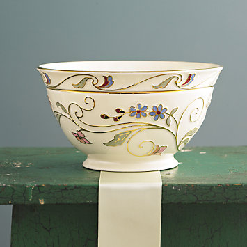 LENOX Your Home: China - Gilded Garden Bowl